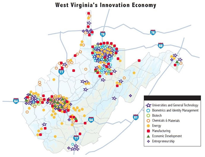 TechConnectWV Map